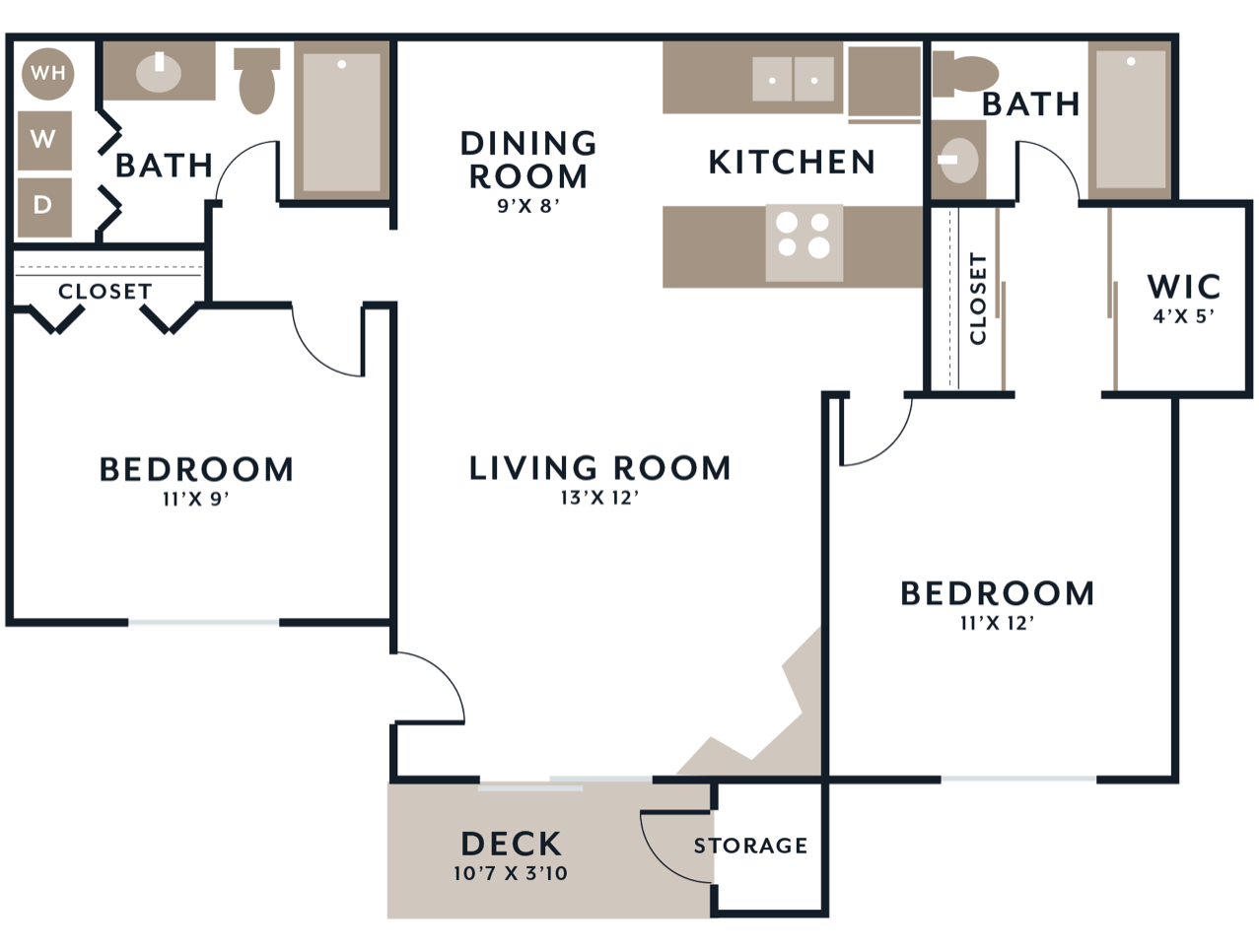East floorplan