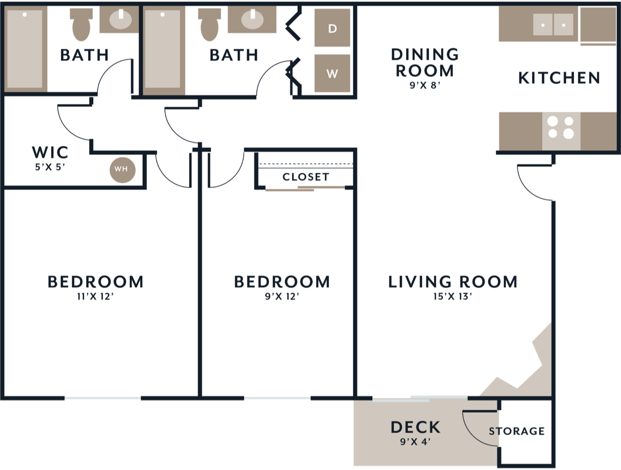 North floorplan