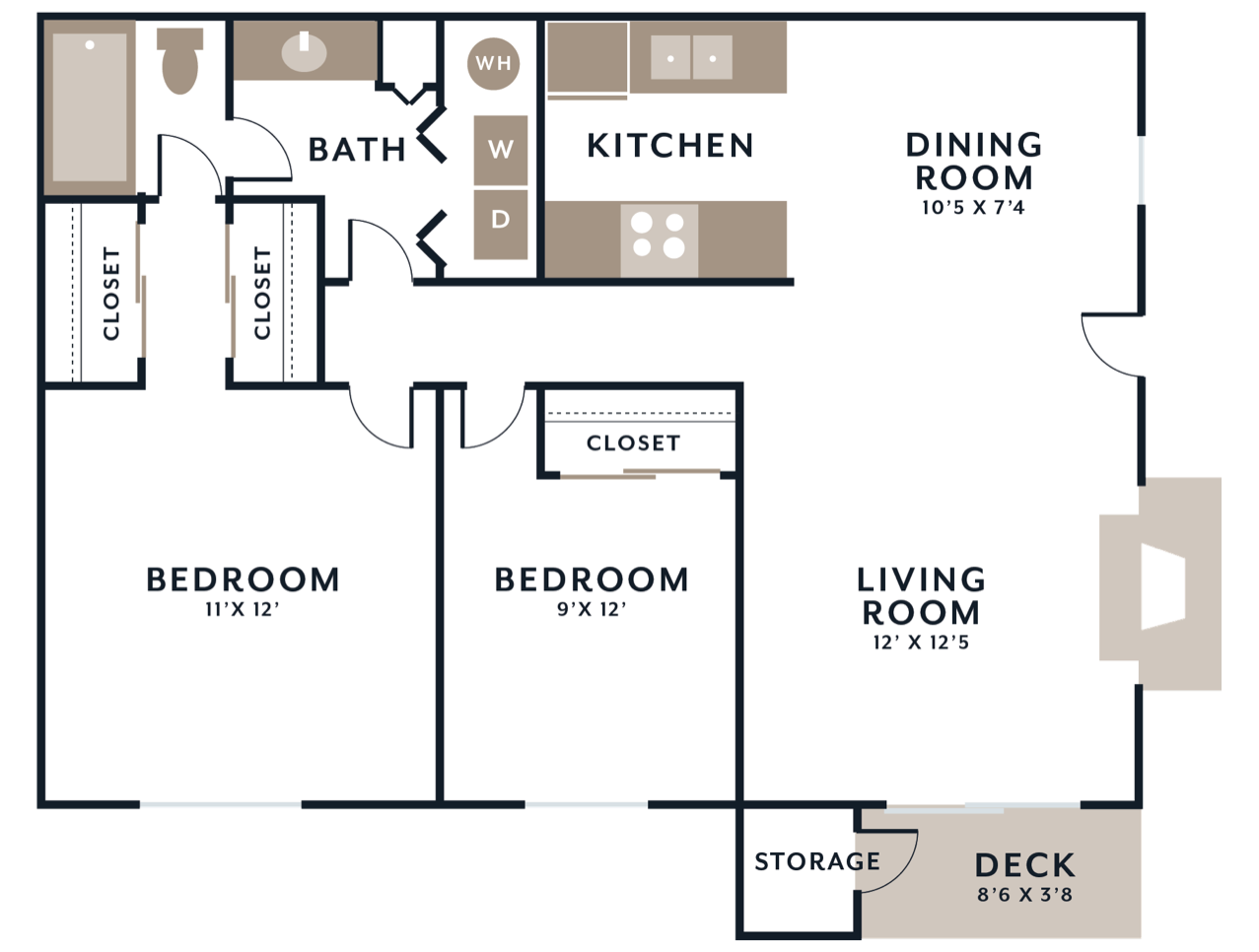 West floorplan